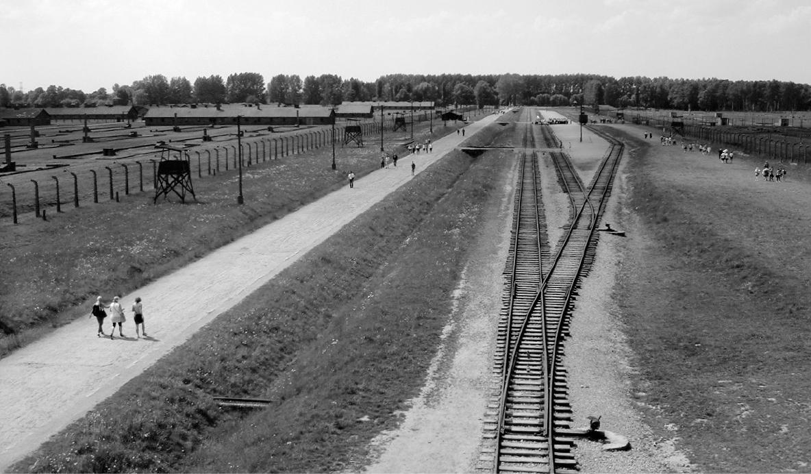 La esplanada de Birkenau